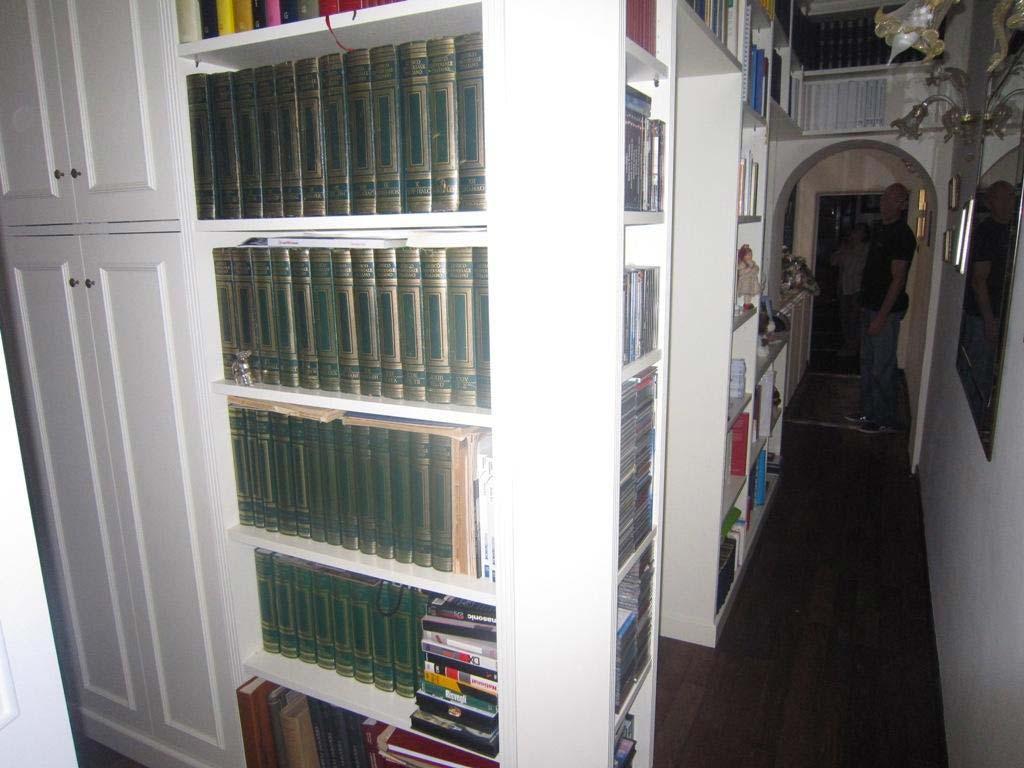 Libreria Angolare.Libreria Angolare Bianca1 6 3c Arredi
