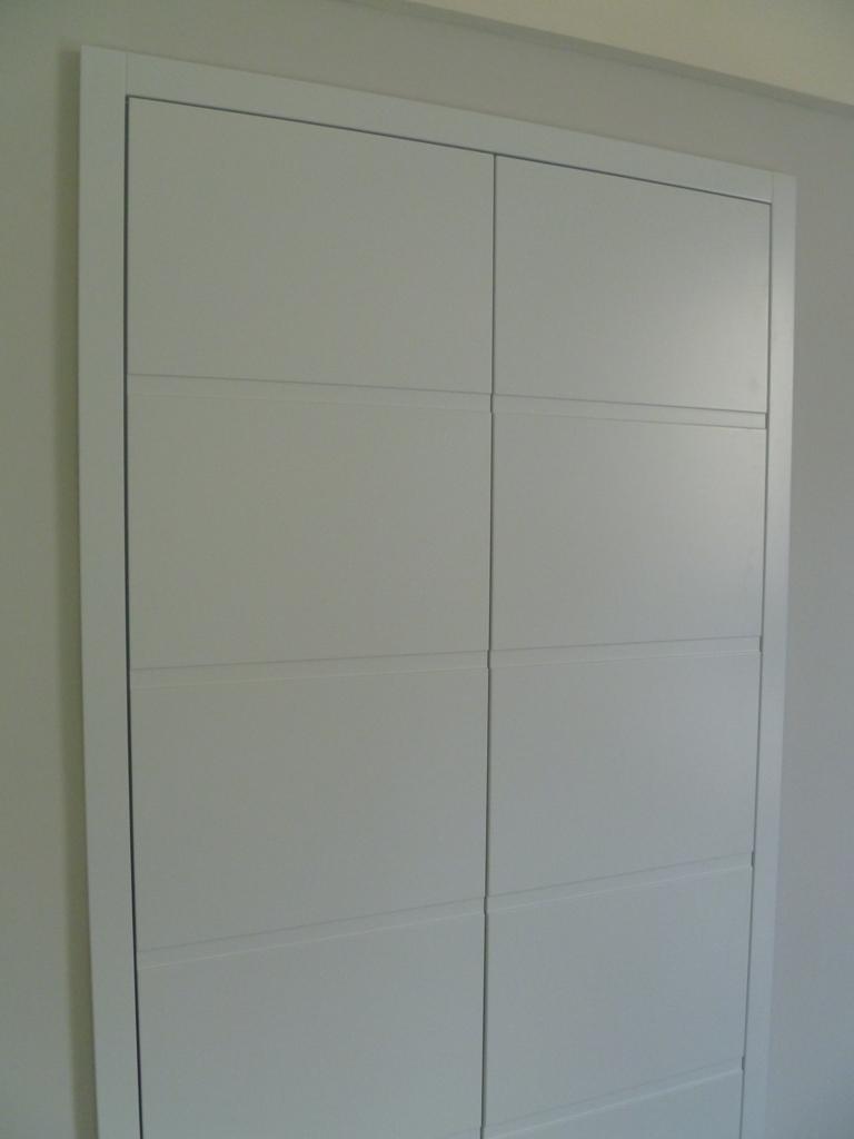 Armadio A Muro Laccato Bianco.Armadi E Mobili A Muro 3c Arredi